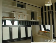 装修设计现代风格黑白配装修实景案例