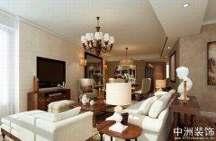 三室两厅欧式简约风格装饰样板间