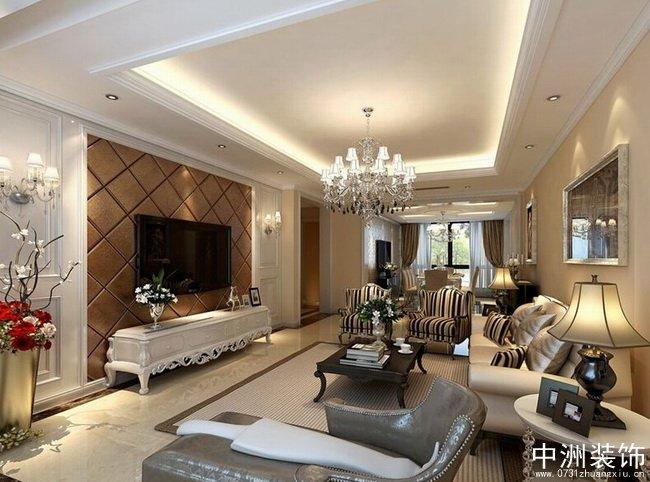 八万古典风格装修效果图奢华空间