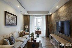 室内设计中式风格138平装修案例