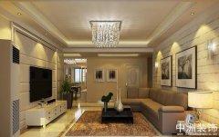 现代装潢设计效果图三室两厅案例