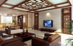 中式风格餐厅设计三个角度作品
