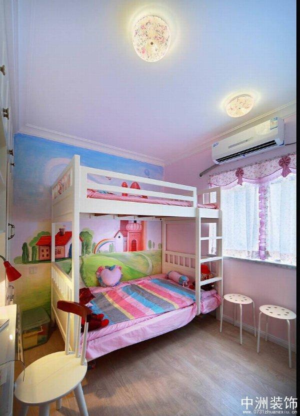 儿童房双层床设计图片大全展示