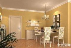 家装设计效果图田园风格成套设计图