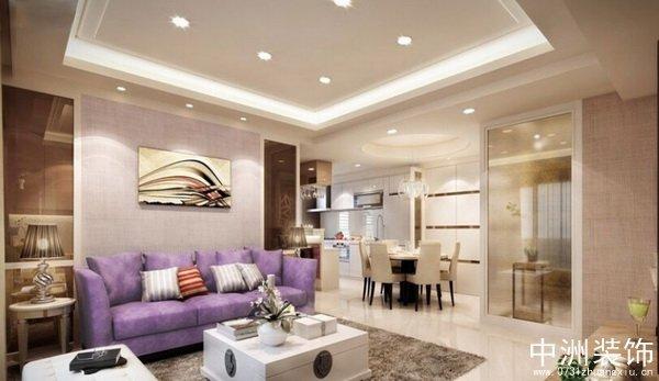 现代风格室内装修135平装修样板间