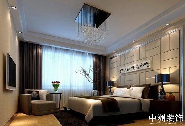 硅藻泥房间顶面效果图-70平两室两厅现代简约装修图