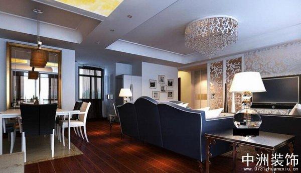 现代风格装修设计方案两室一厅90平方