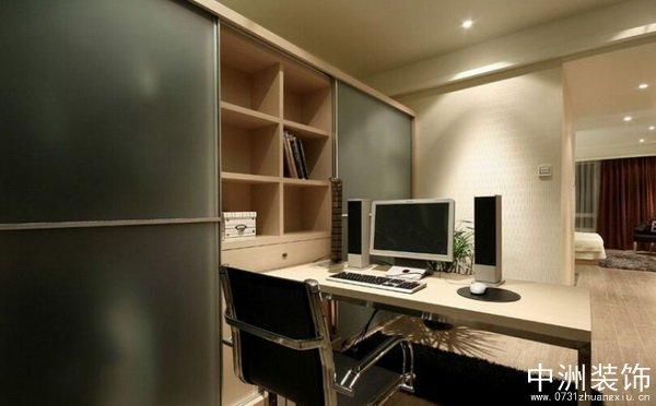 现代简约家装设计书房装修效果图