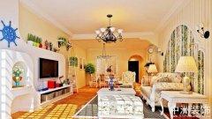 地中海室内家装设计全套装修效果图