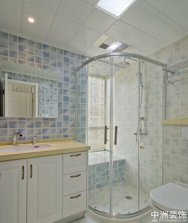 仿古装修风格浴室
