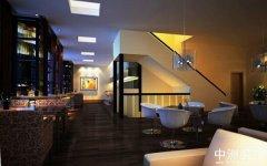 高档西餐厅装修中洲设计案例
