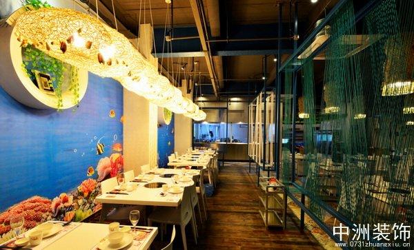 中式主题餐厅装修设计全套效果图作品