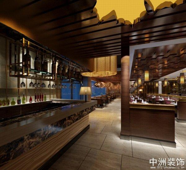 港式茶餐厅装修设计全套装修效果图