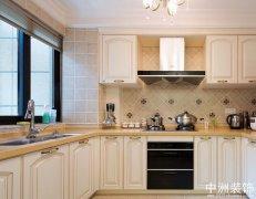 田园风格厨房装修事项之案例图示