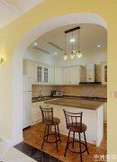 厨房装修颜色风水装修灶台效果图