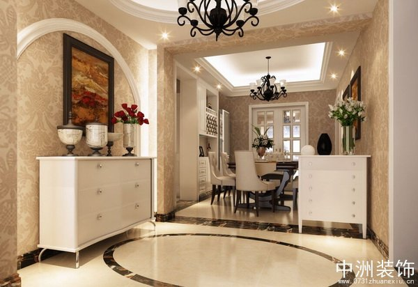 2、组合玄关柜:   在玄关处选择组合性的柜子进行设计与装修也是不错的,尤其是白色的组合柜其在一定程度上具有延伸空间的效果,能放大空间,而且组合玄关柜占用面积小并且具有强大的收纳功能,当然选择什么颜色的玄关组合柜,这还得与整个家居的装饰风格与色彩相搭配协调才可以。   3、玄关镜子设计:   很多人们在进出门前需要整理自己的衣衫,因此在玄关处设置一面镜子也是非常不错的,当然为了整个家居的空间充分利用,在玄关处仅仅是使用一面镜子进行装饰是完全不可能的,可以将镜子背后设计成入墙式的收纳箱,这样不仅充分利