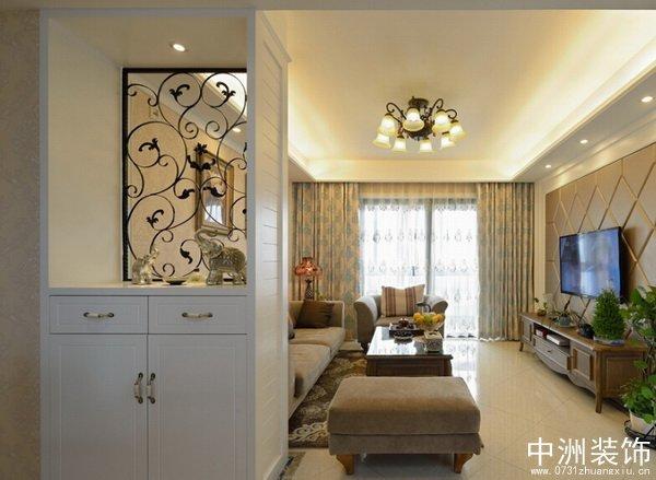 家居玄关设计_长沙中洲装修公司