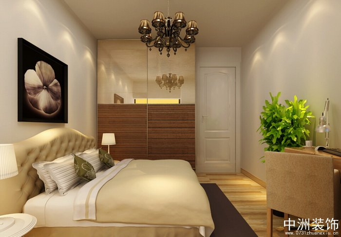 室内装修卧室装修美式风格装修效果图四